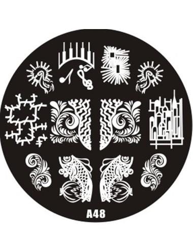 Plaque de Stamping  A48